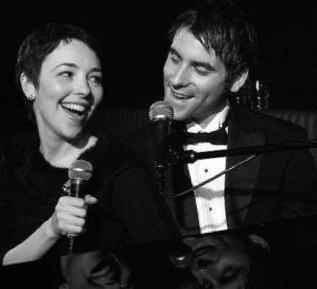 """Elliot Roth w/Harmony Keeney. """"Our Sinatra"""" at the Oak Room, Algonquin Hotel"""